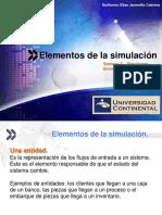 01 Semana 3 Simulación - Teoría - Elementos de La Simulacion