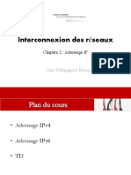Cours Adressage Ip -Ipv4 Et Ipv6- Interconnexion Des Reseaux_chap2