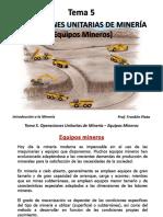 323570012 Tema 5 Equipos Mineros