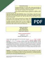 Edital de Convite - Modelo