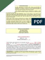 Edital de Concorrencia - Modelo