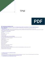 TPM diversos topicos