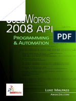Malpass Luke.-SolidWorks 2008 API - Programming and Automation (2011).pdf