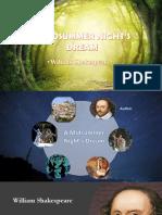 a midsummer nights dream - william shakespeare - cathrine