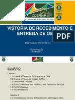 Vistoria Recebimento Entrega Obras Aurelio Jose Lara