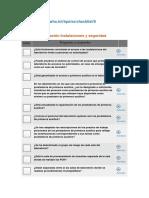 Listas de verificación Instalaciones y seguridad de laboratorio.docx