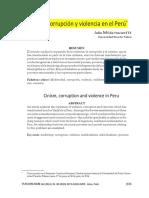 Violencia y Corrupcion
