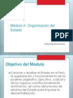 MóduloII_OrganizaciónyfuncionamientodelEstado