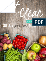 AJF Eat Clean Meal Plan