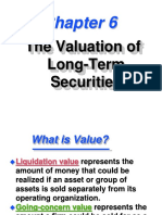 The Valuation of Long-Term Securities-CH7