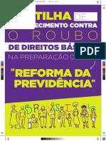 Cartilha Sobre Reforma Da Previdencia Social-2016