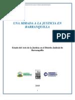 UNA MIRADA A LA JUSTICIA EN BARRANQUILLA Versión Final