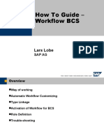 How to Guide Workflow BCS