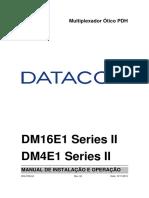 204.0106.04 - DM4E1-DM16E1 Series II - Manual de Instalacao e Operacao