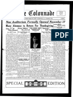 The Colonnade - November 25, 1926