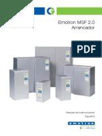 Arrancador Suave Emotron MSF 2.0
