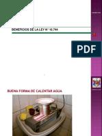 Beneficio de La Ley 16.744 y Procedimientos Médicos ISLe