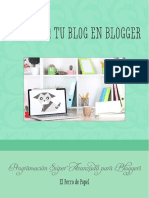 Manual Programa Tu Blog en Blogger