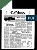 The Colonnade - April 19, 1974