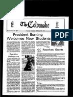 The Colonnade - September 15, 1974
