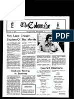 The Colonnade - October 4, 1974