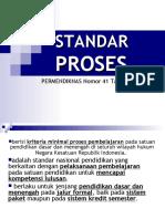 8. Permendiknas No. 41 Tahun 2007 STANDAR PROSES