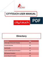 User Manual Citytouch