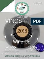 Guia de vinos y destilados Wine Up! 2018 los mejores vinos de España en relación calidad-precio