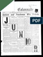 The Colonnade - April 4, 1928