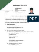 CV Darwin Aroca