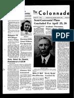 The Colonnade - April 19, 1941