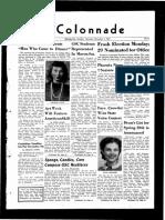 The Colonnade - November 1, 1941