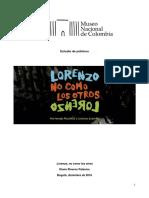 03 Estudio de Públicos Lorenzo, No Como Los Otros