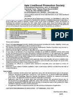 Notification JSLPS Office Asst Social Audit Specialist Other Posts