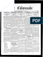 The Colonnade - October 4, 1930