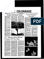 The Colonnade - October 28, 1971
