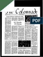 The Colonnade -  November 11, 1971