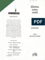PETRUCCI, Armando Alfabetismo, escritura y sociedad