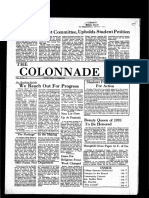 The Colonnade -  January 22, 1970