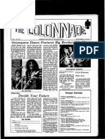 The Colonnade -  September 24, 1970