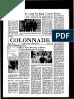 The Colonnade -  April 2, 1970