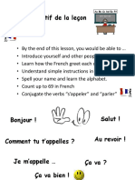 French Lesson 1