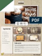 Receta Express Bollitos Yogur
