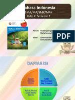 1 Power Point Pembelajaran Bahasa Indonesia Kelas XI Semester 2
