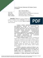 MEDIDA CAUTELAR NO RECURSO ORDINÁRIO EM HABEAS CORPUS 128.552 DISTRITO FEDERAL