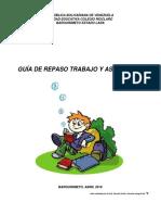 Guía de Trabajo 3er Lapso 5to B