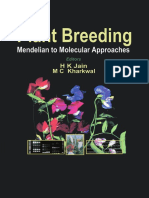Plant Breeding Mendelian to Molecular Approaches
