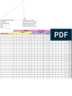 Instrumento de Observacion Para Evaluar Trabajo Cotidiano Materias Complementarias II Ciclo