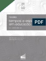 Espediente_Revista Tempos e Espaços em Educação_2017