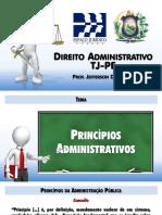 TJPE - DADM - Tema 2 - Principios Administrativos